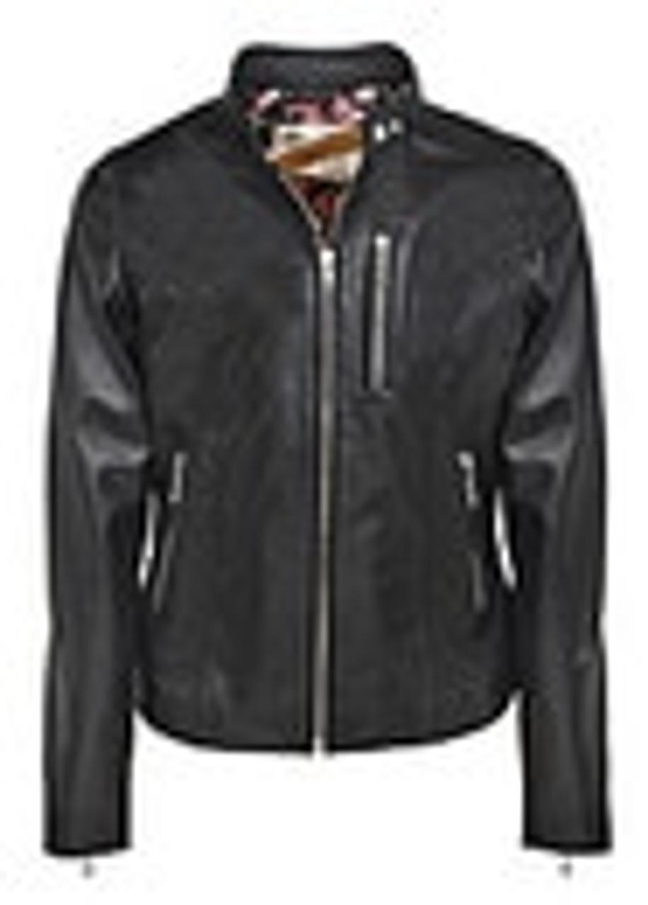 "Women's 22"" Lambskin ""Cafe"" Zip Front Jacket"