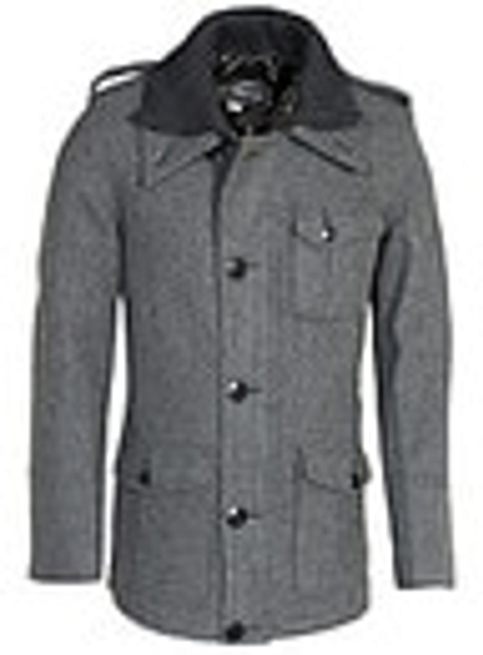 Schott Wool Blend Car Coat