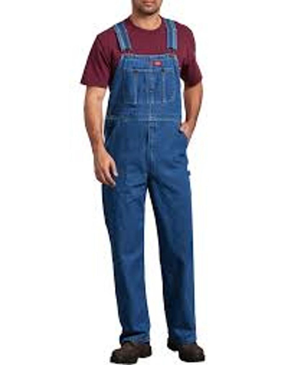 Dickies Stone Washed Bib Overall-8396 Bigs