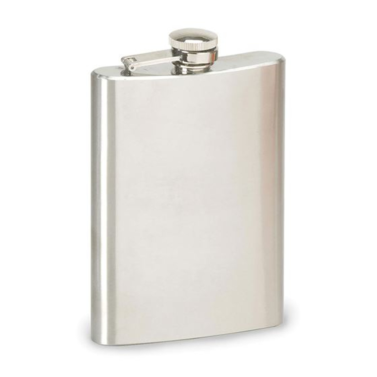 Stansport® STAINLESS STEEL FLASK - 8 OZ