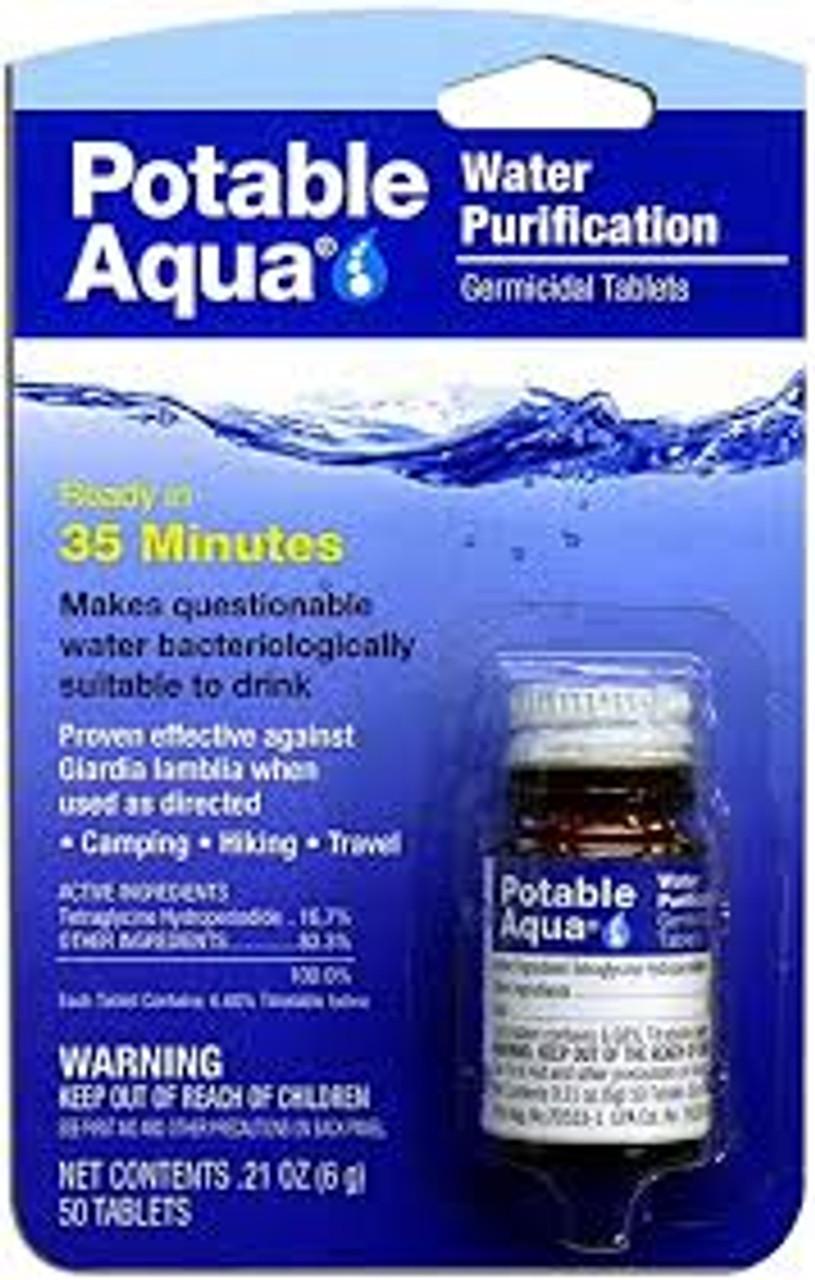 Rothco® Potable Aqua Water Purification Tablets
