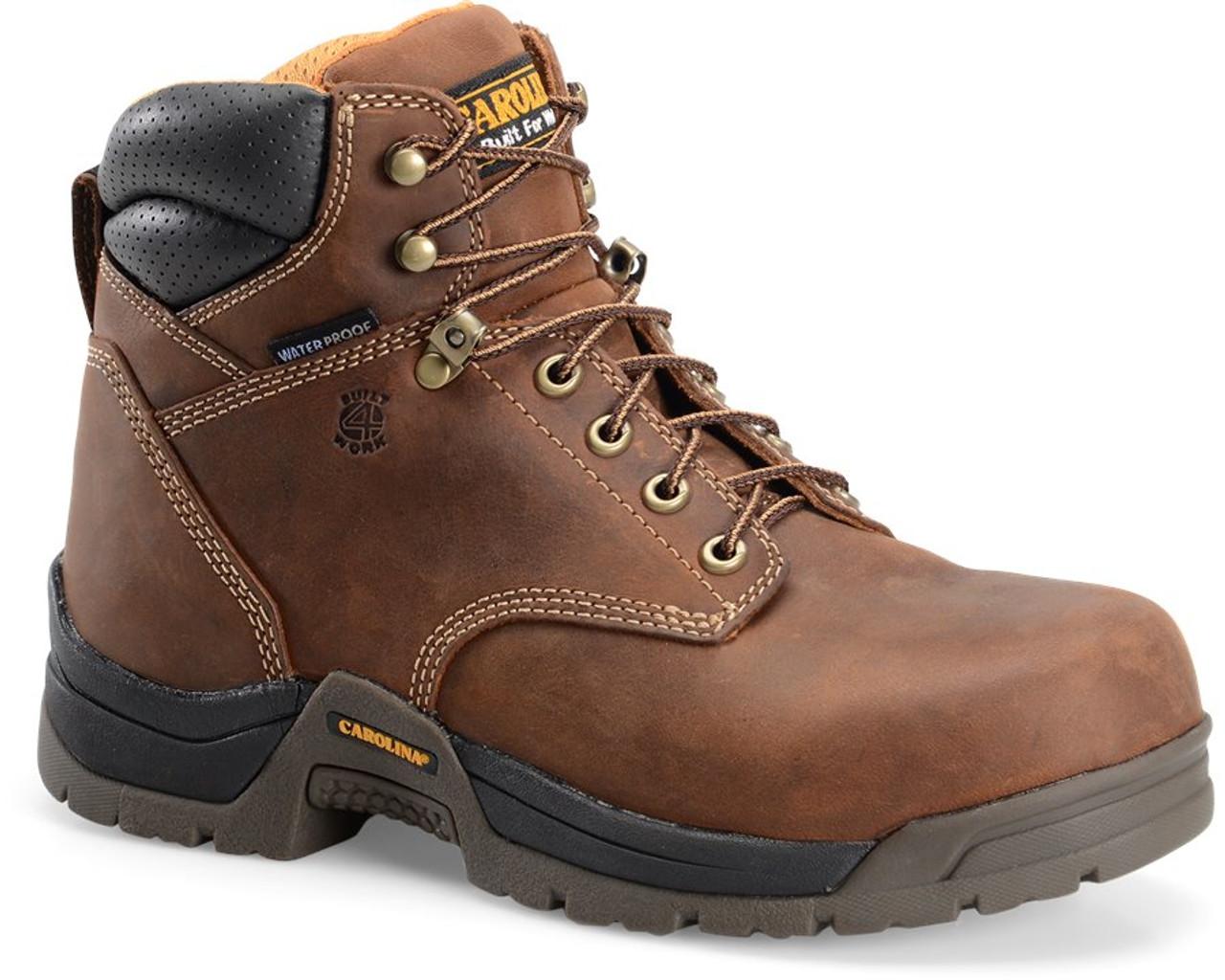 Carolina BRUNO LO  Waterproof Broad Toe Work Boot - CA5020