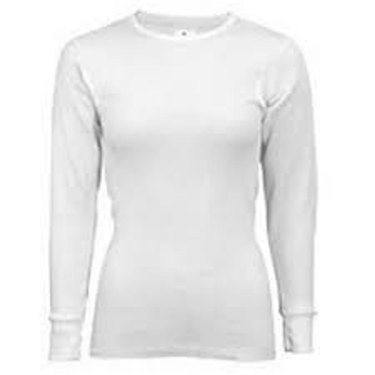 Indera® Warmwear Traditional Thermal Womens Top-5000LS