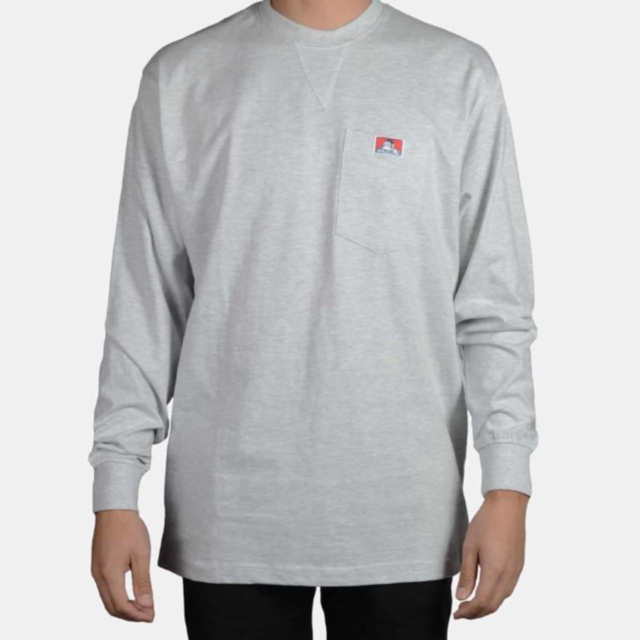 Ben Davis® Heavy Duty Long Sleeve Pocket T-Shirt