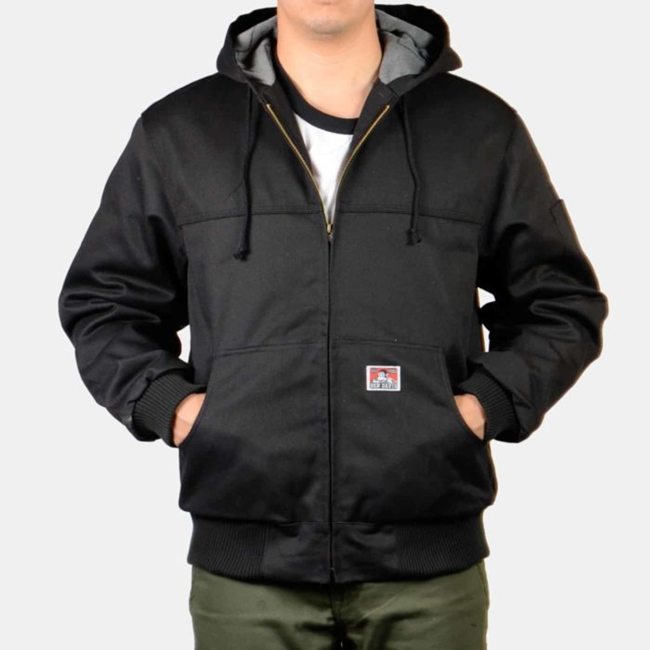 Ben Davis® Hooded Zippered Front Jacket