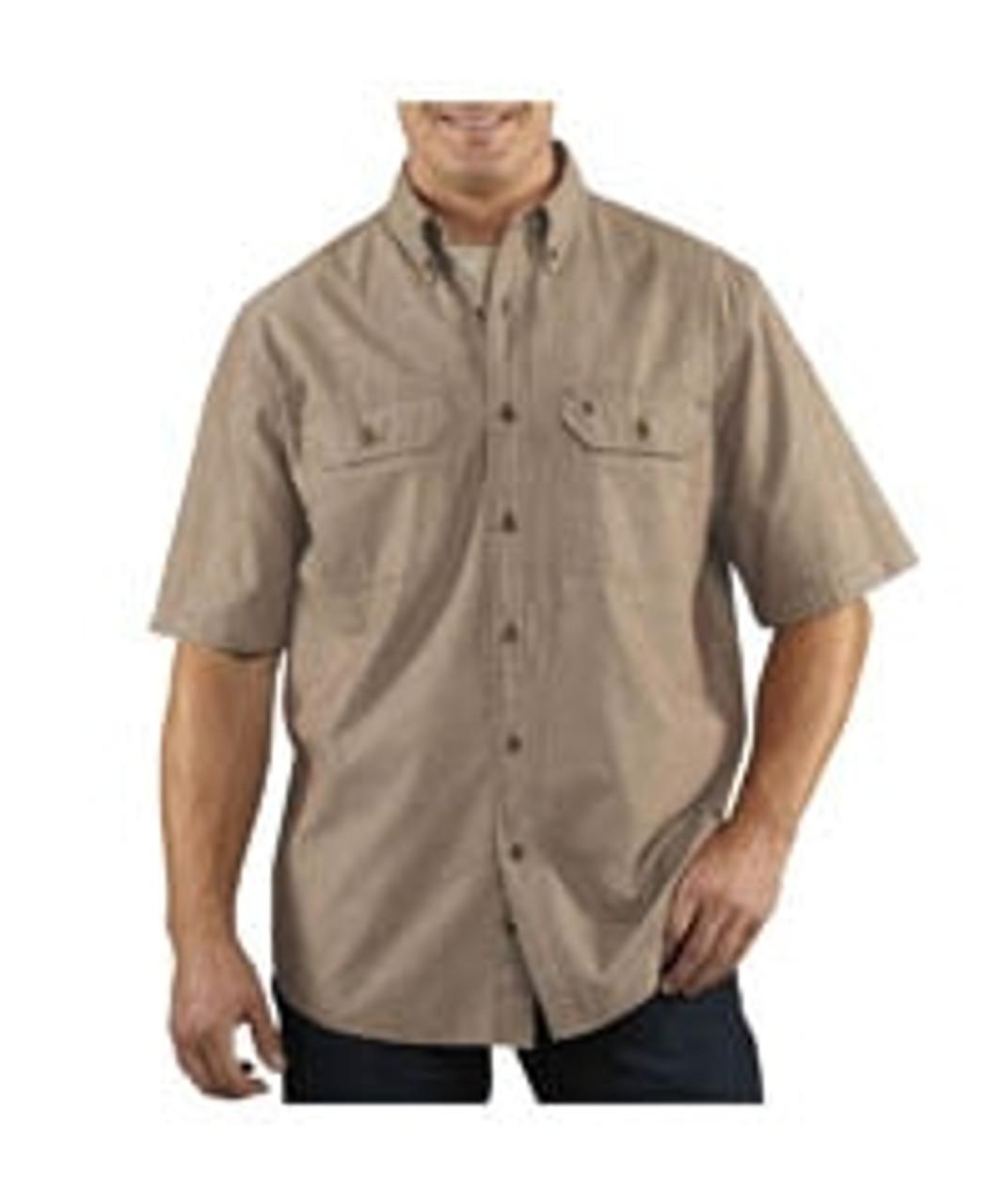 Carhartt® Fort Solid Short Sleeve Shirt-S200