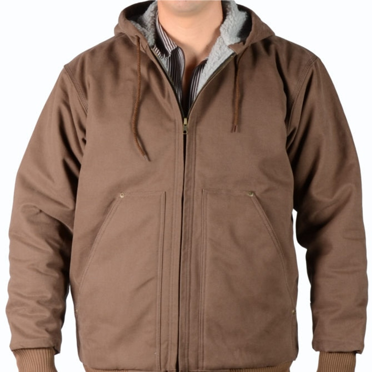 Ben Davis® Hooded Fleece/Sherpa Lined Jacket