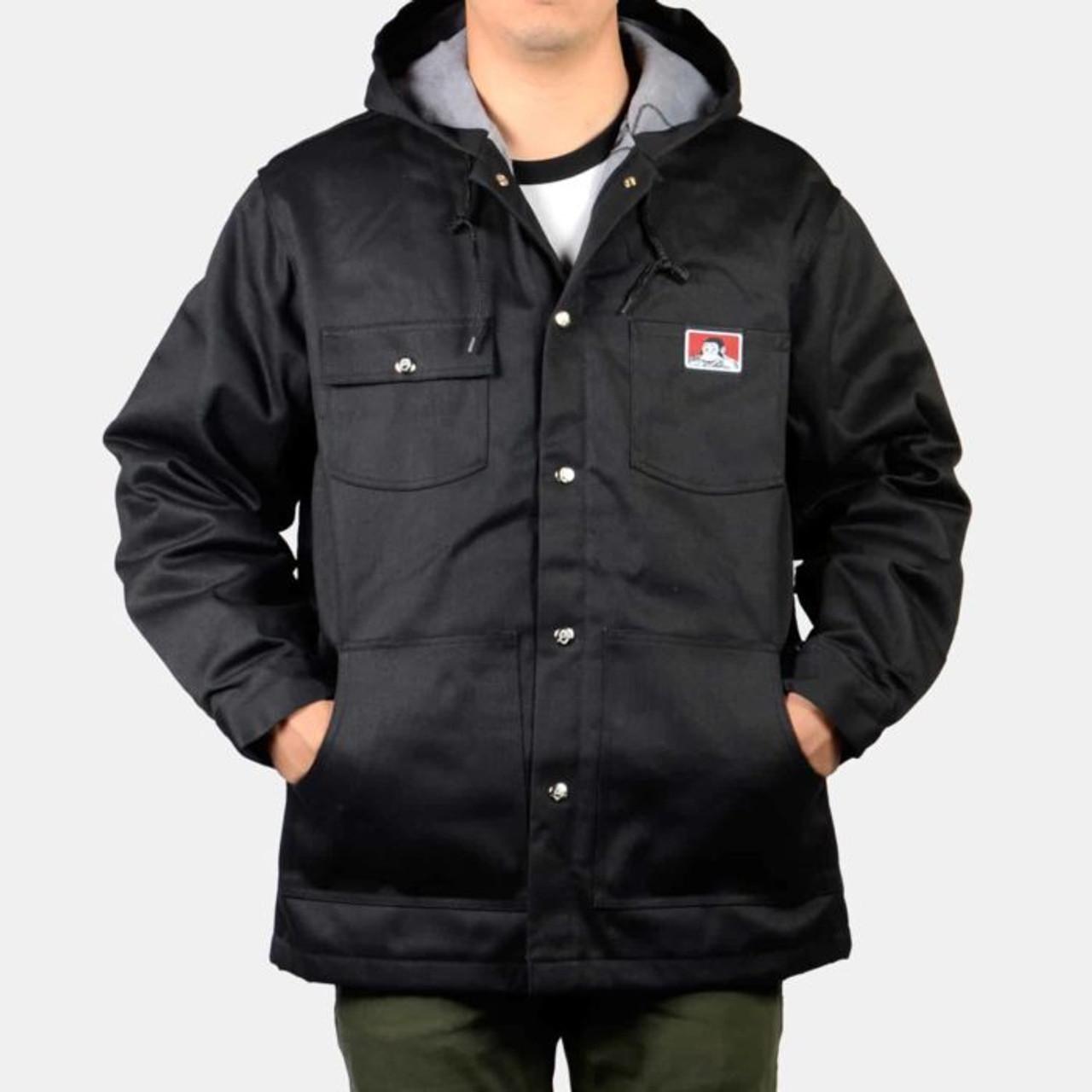 Ben Davis® Hooded Jacket Front Snap