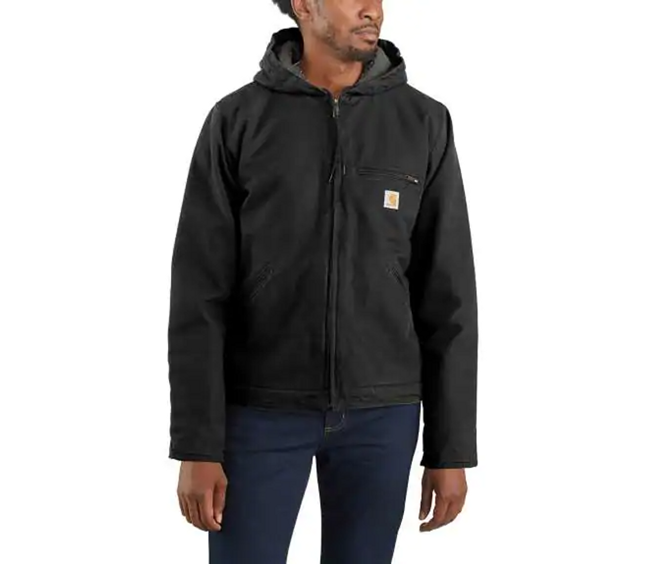 CARHARTT® WASHED DUCK SHERPA LINED JACKET-104392