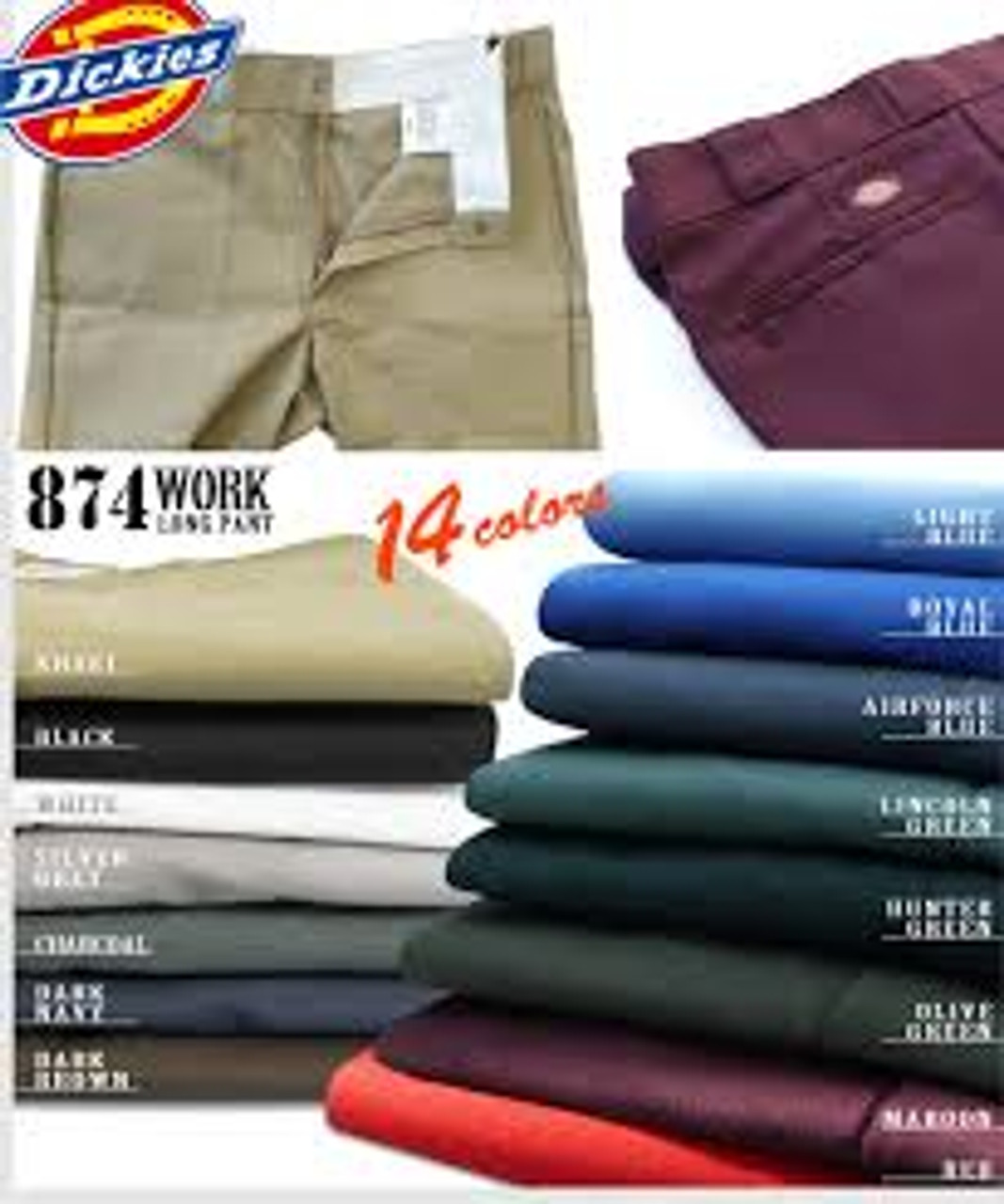 Dickies Traditional 874 Work Pant-KH