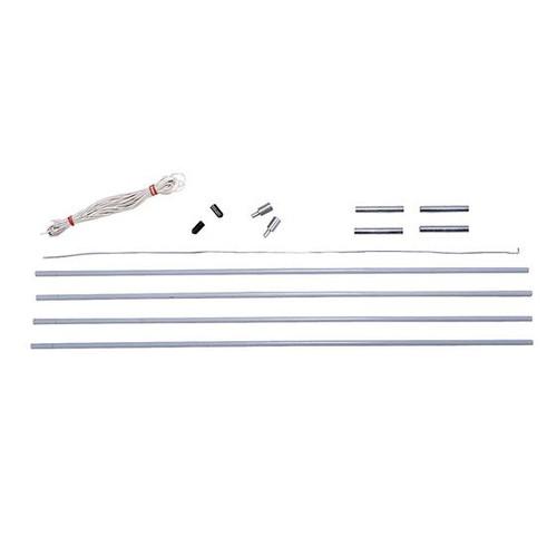 Fiberglass Pole Replacement Kits - 9mm