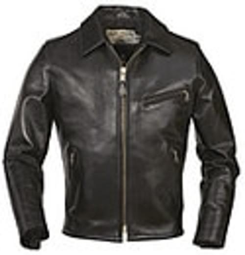 """Schott 1/2"""" Deluxe Horsehide Retro Motorcycle Jacket"""