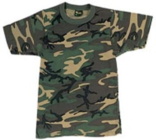 Woodland Camouflage T-Shirt - 8782