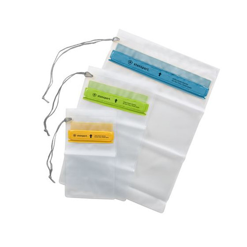 Stansport® 3-PACK WATERPROOF POUCHES
