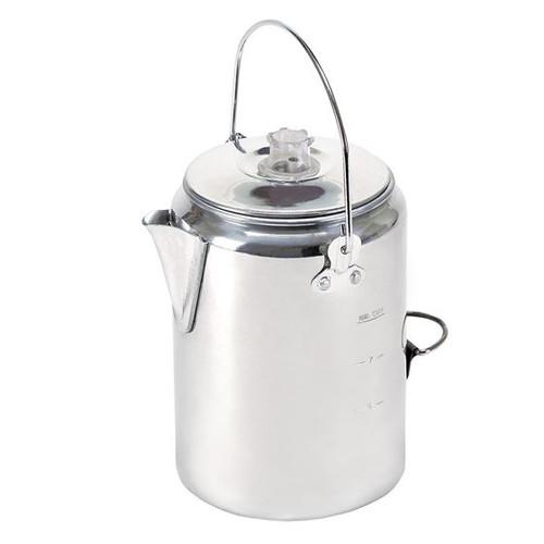 Stansport® ALUMINUM PERCOLATOR COFFEE POT - 9 CUP
