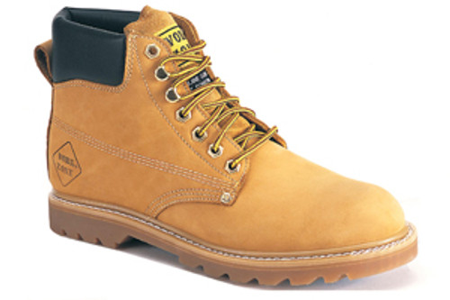 "Work Zone® 6"" Oil Full Grain Leather/Soft Toe"