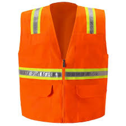 MULTI-POCKET SAFETY VEST/Non ANSI Vests