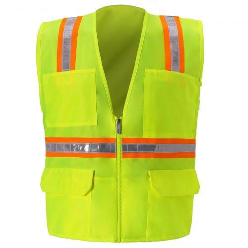 MULTI-POCKET SAFETY VEST/Non ANSI Vests