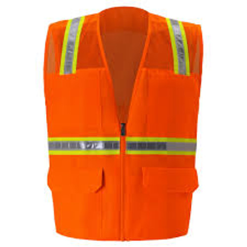 MULTI-POCKET MESH SAFETY VEST/Non ANSI Vests