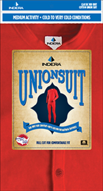 Indera® Union Suit-865US