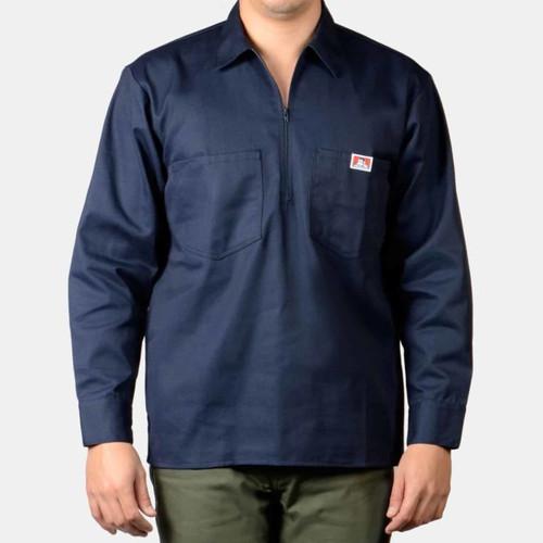 Ben Davis® Long Sleeve Solid, 1/2 Zip