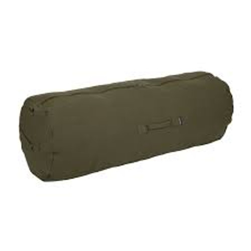 """Stansport ZIPPERED CANVAS DELUXE DUFFEL BAG 50"""""""