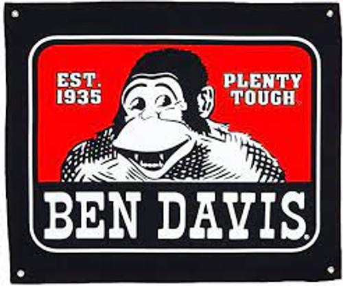 "Ben Davis Logo 29"" x 22"" Banner"