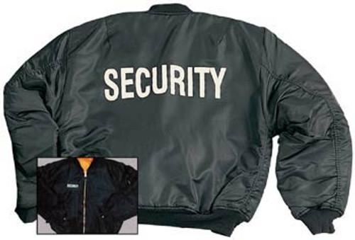 """Security"" MA-1 Flight Jacket-7359"
