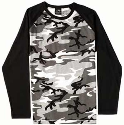 2 Tone Raglan T-Shirts
