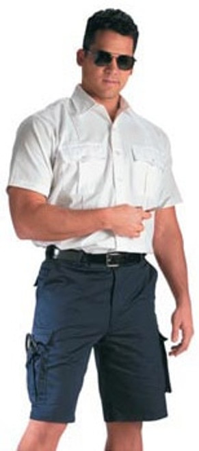 65% Poly/35% Cotton Twill 7 Pocket E.M.T. Shorts