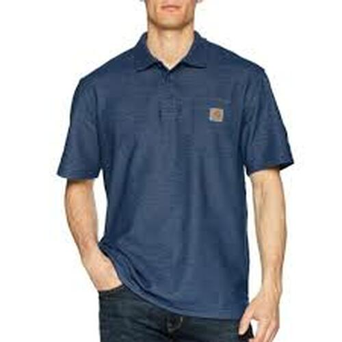 CARHARTT CONTRACTOR'S WORK POCKET® POLO-K570