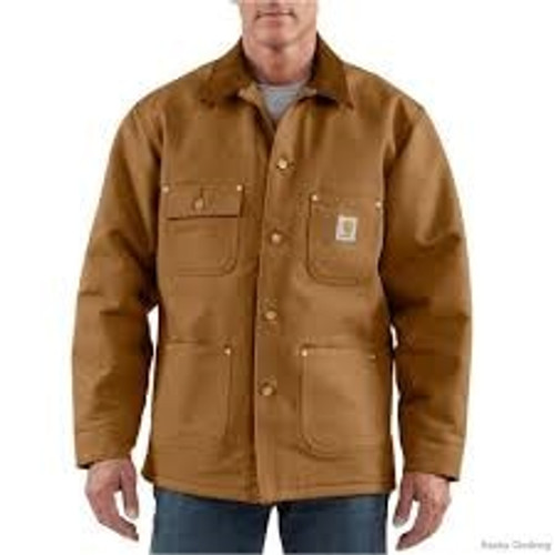 Carhartt Duck Chore Coat - Blanket Lined -103825
