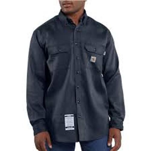 Carhartt Flame-Resistant Work-Dry Lightweight Twill Shirt-FRS003