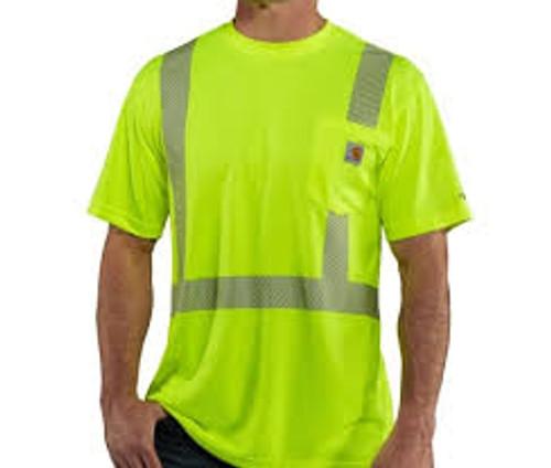 Carhartt Force High-Visibility Short-Sleeve Class 2 t-Shirt-100495
