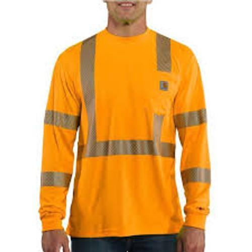 Carhartt® High-Visibility Long-Sleeve Class 3 T-Shirt-100496