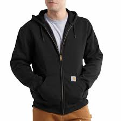 Carhartt Rain Defender® Rutland Thermal Lined Hooded Zip Front Sweatshirt-100632