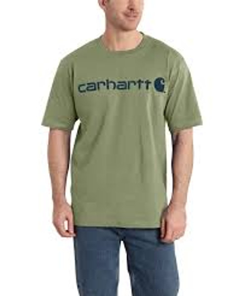 Carhartt Signature Logo Short-Sleeve T-Shirt-K195