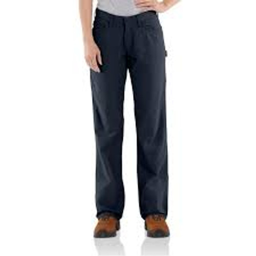Carhartt WOMEN'S FR ORIGINAL-FIT RUGGED FLEX®CANVAS PANT-102689