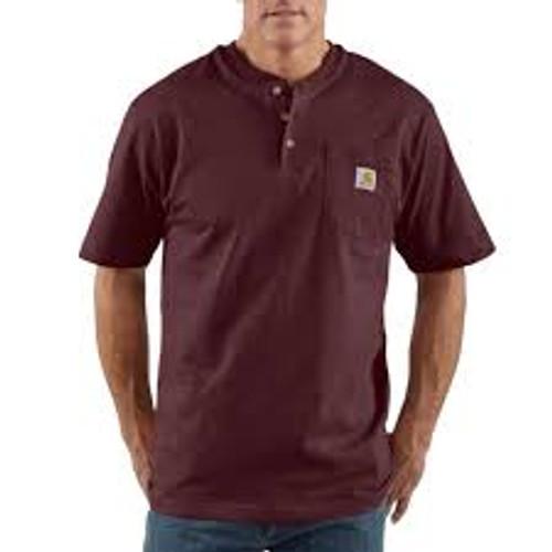 Carhartt Pocket Short-Sleeve Henley Big/Tall-K84