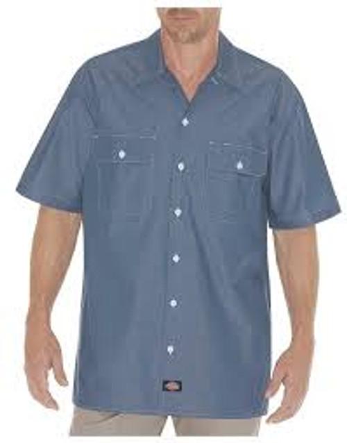 Dickies Chambray Short Sleeve Shirt-WS509