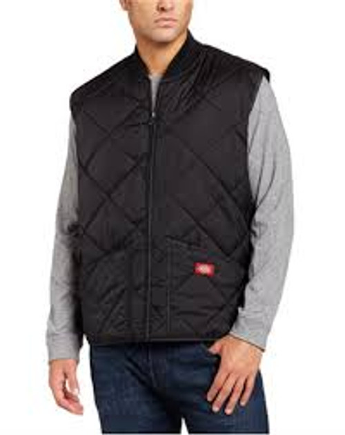 Dickies Diamond Quilted Nylon Vest-TE242