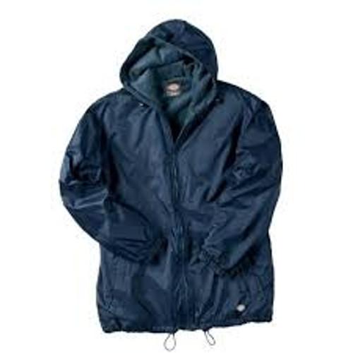 Dickies Fleece Lined Hooded Nylon Jacket-33237