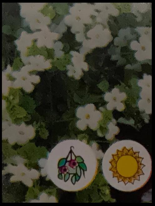 "FlowerPotNursery White Bacopa Bacopa Sutera sp. White 4"" Pot"