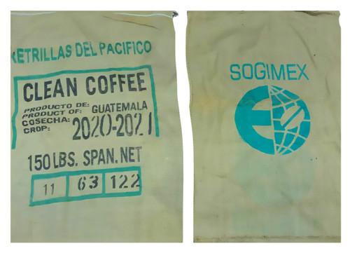 Flower Pot Nursery Assorted Coffee Bean Burlap Sack Bag Reclaimed Hessian 2 Pack