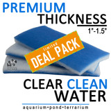 inTank Bonded Poly Filter Floss | DEAL PACK [3 PADS] 20 x 9 x 1.5 IN. each