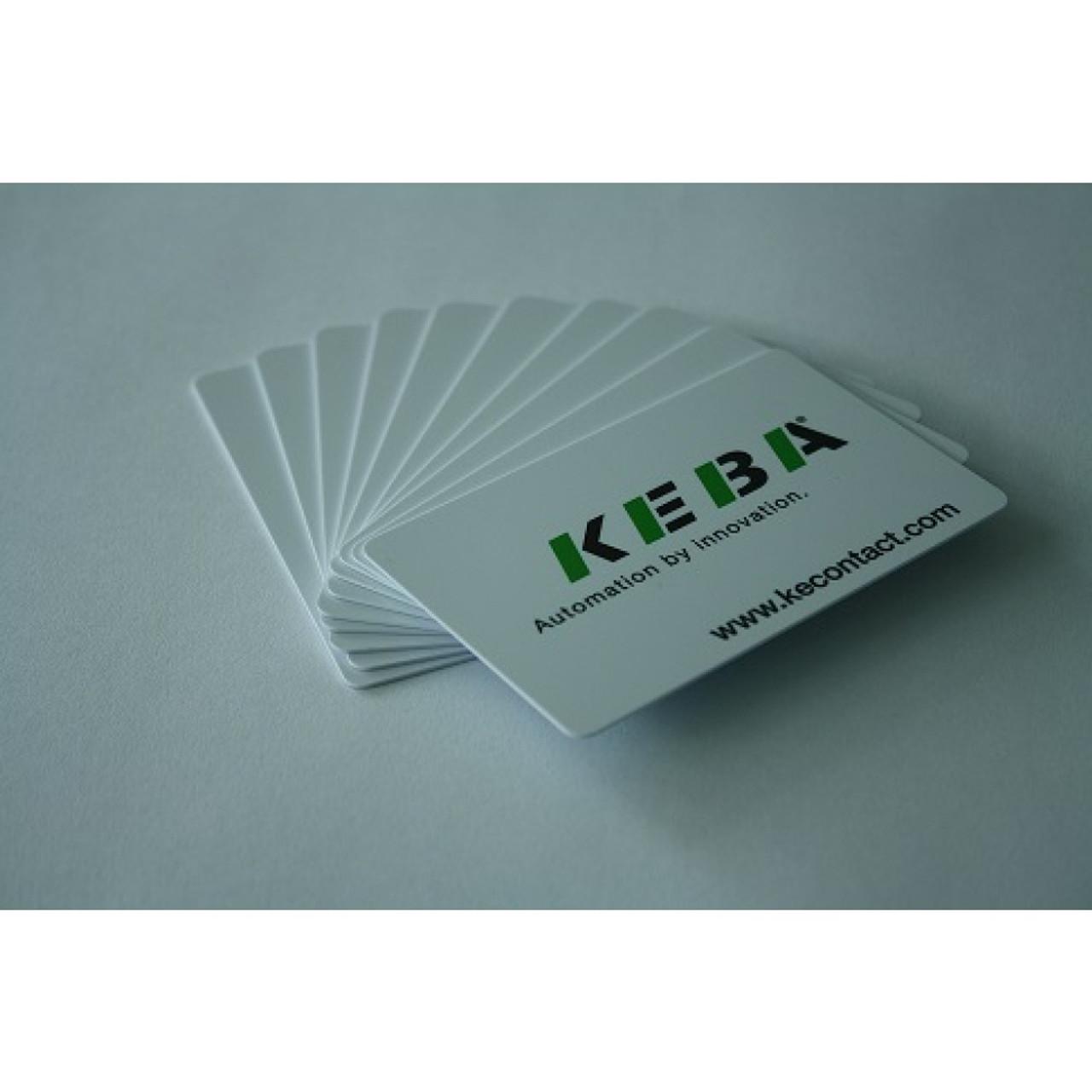 RFID cards - Keba design - 10 pcs (not discountable) / 96,089