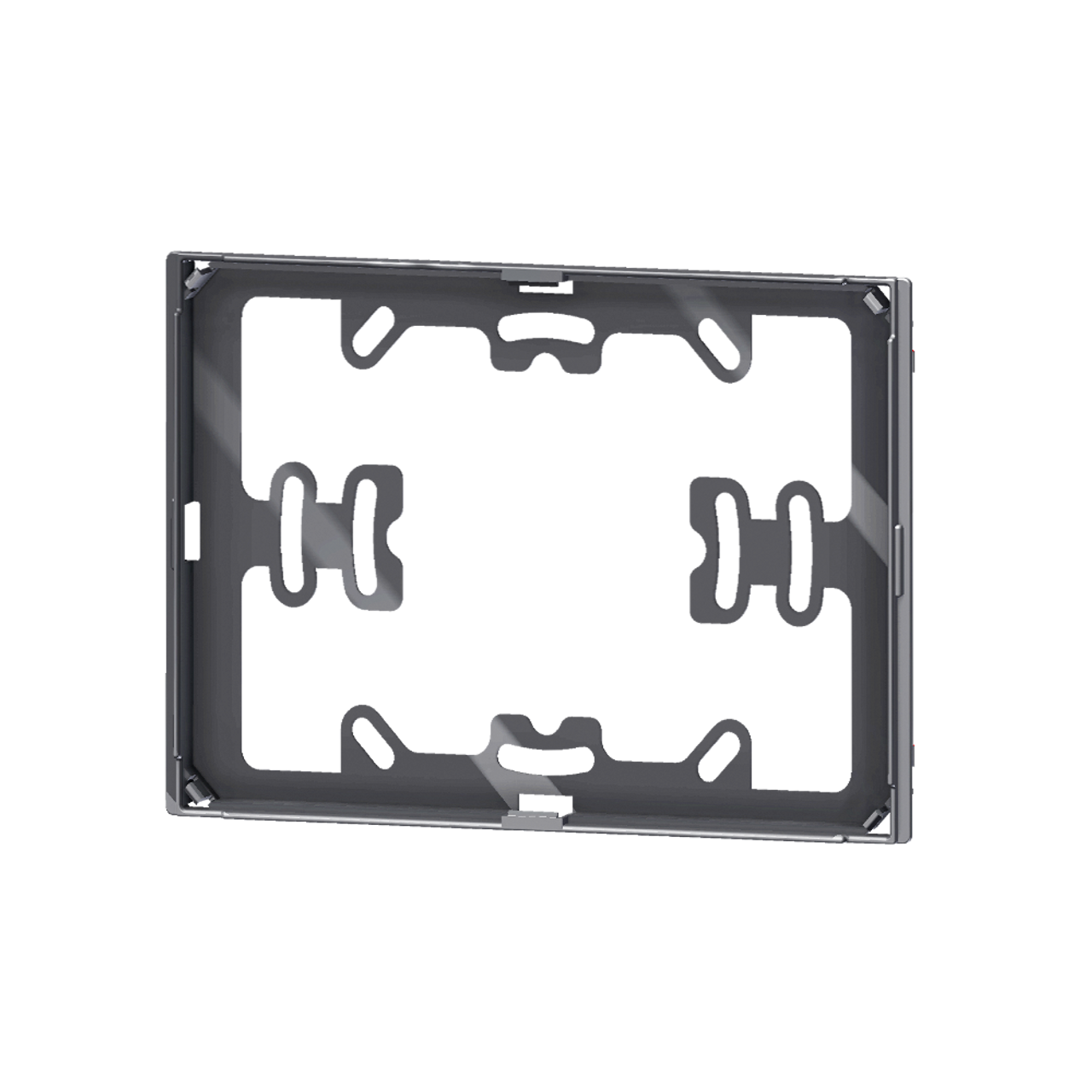 Package 5 pcs. black adapter for 'NF rectangular plate