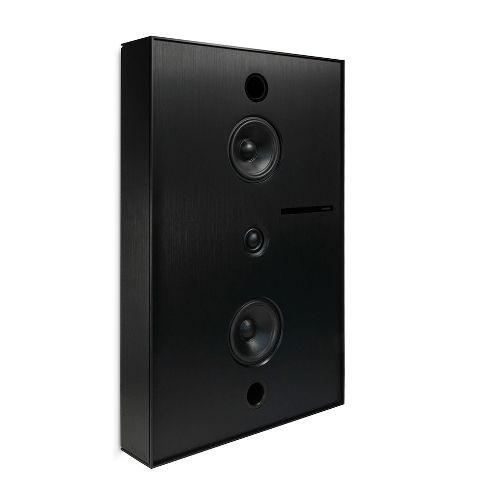 Aalto D3 - active network speaker - brushed black