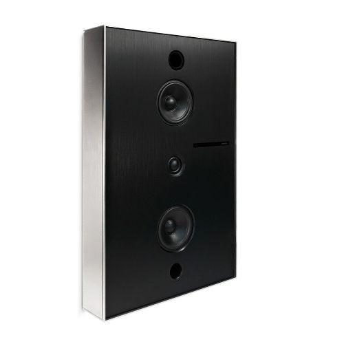 Aalto D3 - active network speaker - brushed nickel
