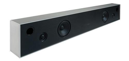 Aalto D4 - active stereo network speaker - brushed aluminium